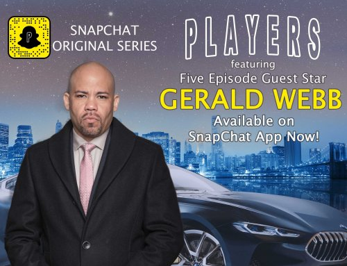 Gerald Guest Stars In Five Episodes of SnapChat's Original Series PLAYERS.